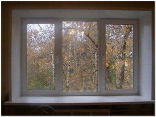 Вікно пластик фото